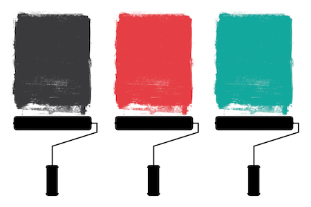 The 10 Paint Colors Designers Use Most
